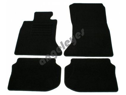 Čierne koberce pre BMW F10/F11