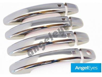 Nerezové kryty kľučiek Audi A1, A4 B8, A5, A8, Q3, Q5