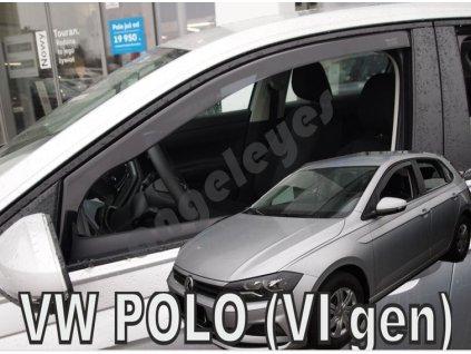 Deflektory na okná pre Volkswagen Polo, od rv. 2017, 2ks