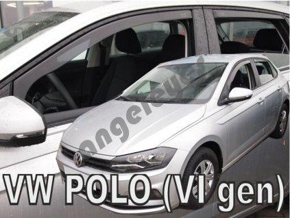 Deflektory na okná pre Volkswagen Polo, od rv. 2017, 4ks