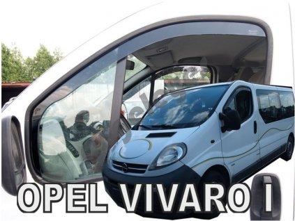 Deflektory na okná pre Renault Trafic 2/Opel Vivaro 1, 2ks
