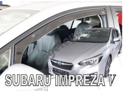Deflektory na okná Subaru IMPREZA 5, od rv. 2017, 2 ks