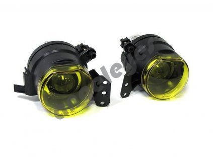 BMW 3 E46 predné projektorové žlté hmlovky, rv. 2003-2006