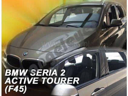 Deflektory na okná pre BMW 2 F45 Active Tourer, 4ks