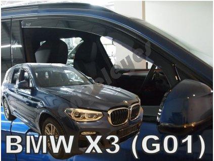 Deflektory na okná pre BMW X3 G01, 2ks