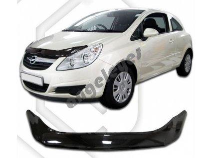 Deflektor prednej kapoty pre Opel Corsa D
