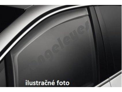Deflektory na okná pre VW Golf 2/Jetta 2D, delené okná, 2ks