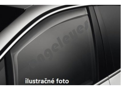 Deflektory na okná pre Volkswagen Polo, rv. 1994-2001, 4ks