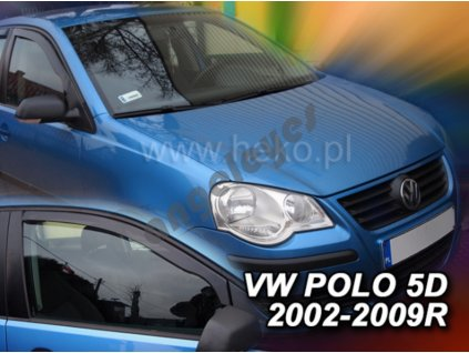 Deflektory na okná pre Volkswagen Polo, rv. 2002-2009, 2ks