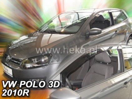Deflektory na okná pre Volkswagen Polo, rv. 2009-2017, 2ks