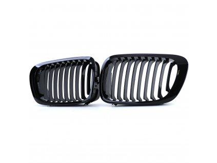 BMW E46 Coupe Cabrio 99-03 čierna lesklá maska