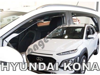 Deflektory na okná pre Hyundai Kona, od rv. 2017-, 4ks