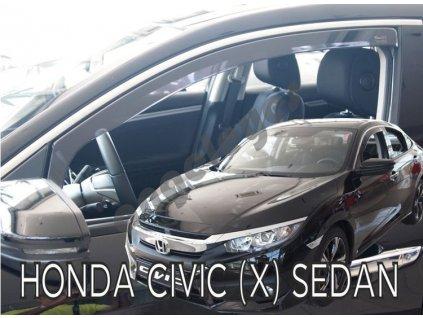 Deflektory na okná pre Honda Civic, od rv. 2017-, 2ks