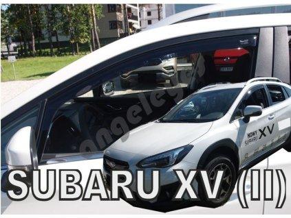 Deflektory na okná pre Subaru XV, od rv. 2018-, 2ks