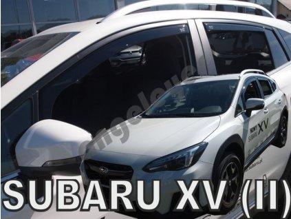 Deflektory na okná pre Subaru XV, od rv. 2018-, 4ks