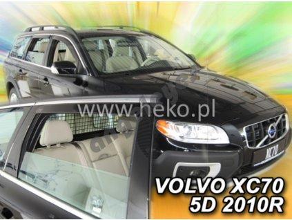 Deflektory na okná pre Volvo V/XC70, 4ks