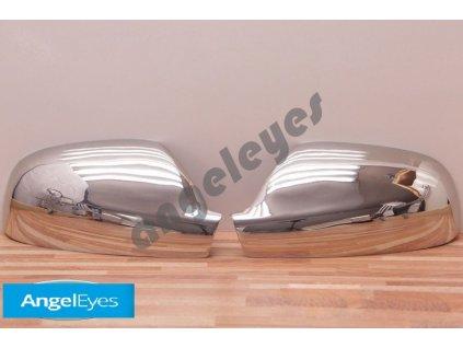 Nerezové kryty zrkadiel pre Peugeot 307,407, Citroen Xsara