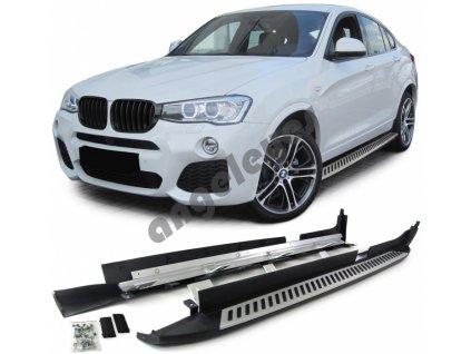 Bočné nášľapy pre BMW X4 F26 od rv. 2014-