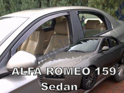 Deflektory na okná pre Alfa Romeo 159 4d sedan