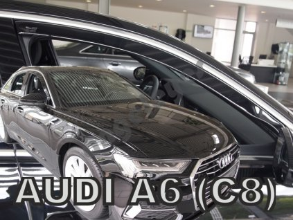 Deflektory na okná pre Audi A6 C8 4d, A6 C8 5d Avant,rv. 2018-