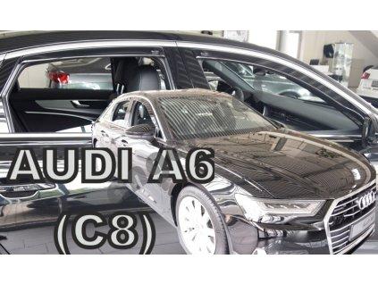 Deflektory na okná pre Audi A6 C8 4d Sedan,rv. 2018-