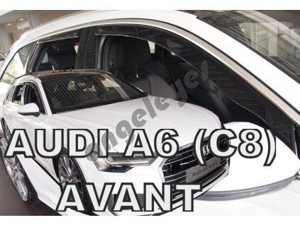 Deflektory na okná pre Audi A6 (C8) 5d Avant, rv. 2018-