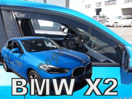 Deflektory na okná pre BMW X2 F39 2ks, rv. 2018-