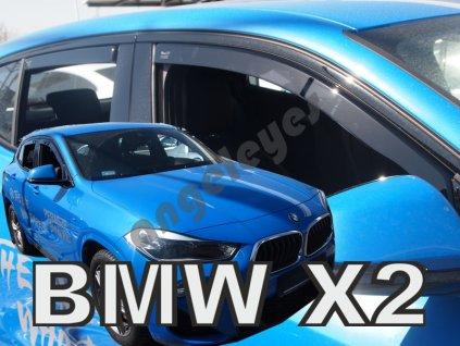 Deflektory na okná pre BMW X2 F39 5D 4ks, rv. 2018-