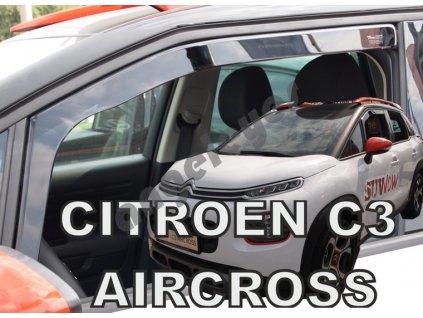 Deflektory na okná pre Citroen C3 Aircross 2ks, rv. 2017-