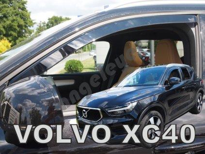 Deflektory na okná pre Volvo XC40, 2ks