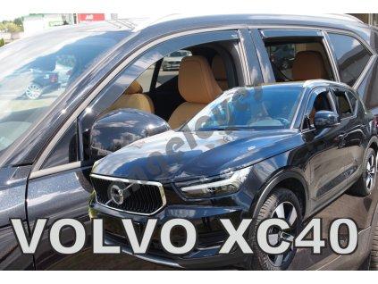 Deflektory na okná pre Volvo XC40 5D, 4ks