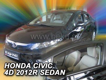Deflektory na okná pre Honda Civic lX 4D, 2ks