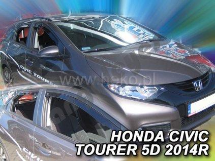 Deflektory na okná pre Honda Civic lX Tourer, 4ks