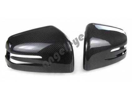 Carbónové kryty zrkadiel Mercedes G W463, GL X166, GLE W166