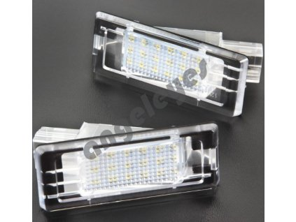 LED osvetlenie ŠPZ pre Renault, Dacia
