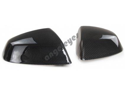 Carbónové kryty zrkadiel Audi Q5, Q7