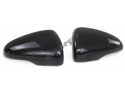 Carbónové kryty zrkadiel VW Golf 6, Touran 1T3