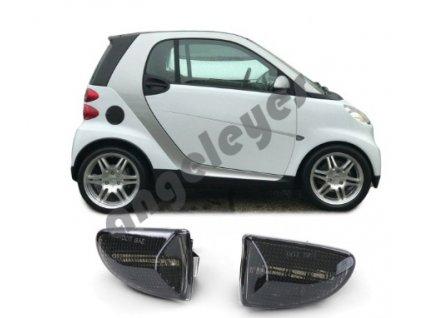 Dynamické bočné LED smerovky Smart Fortwo Cabrio Coupe 451 od...