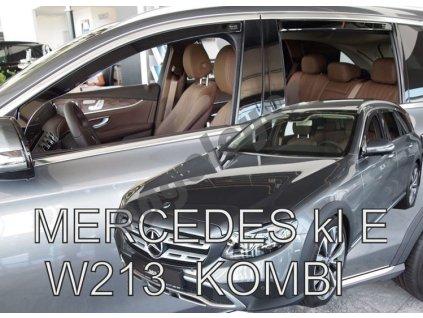 Deflektory na okná pre Mercedes E W213 kombi, 4ks