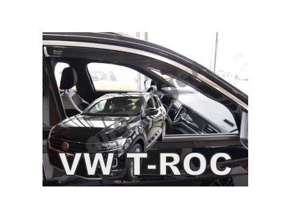 Deflektory na okná pre VW T-ROC, 2ks