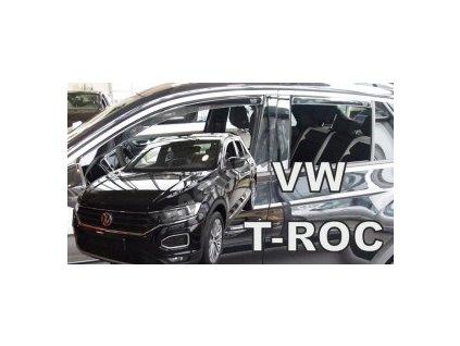Deflektory na okná pre VW T-ROC, 2017- 4ks