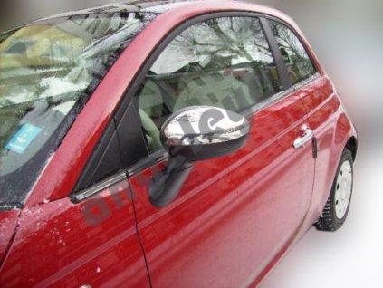 Fiat 500 nerezové kryty spätných zrkadiel