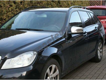 Chrómové kryty zrkadiel Mercedes W212 W204 W176 W246 C218 X156