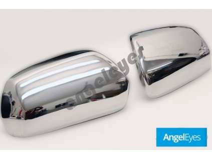 Nerezové kryty zrkadiel Nissan Murano 1