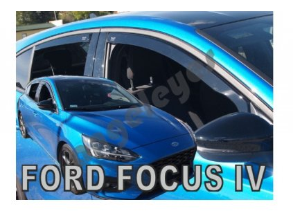 Deflektory na okná pre Ford Focus, 4ks