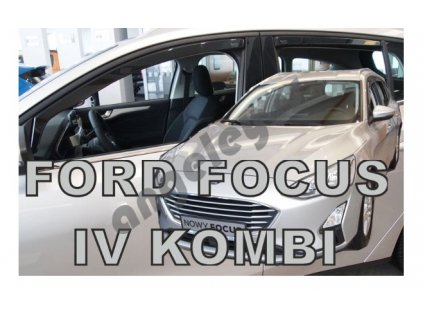 Deflektory na okná pre Ford Focus , 2ks