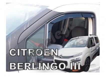 Deflektory na okná pre Citroen Berlingo III 4ks