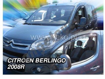 Deflektory na okná pre Citroen Berlingo  2ks