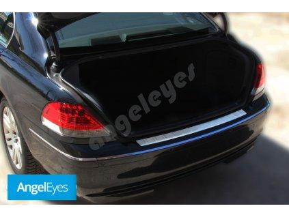 BMW 7  E65 E66 nerezová ochrana nárazníka matná
