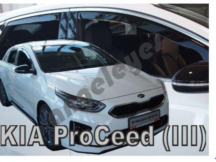 Deflektory na okná pre Kia ProCeed III